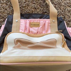 Fivesse womens gym/yoga/diaper bag backpack